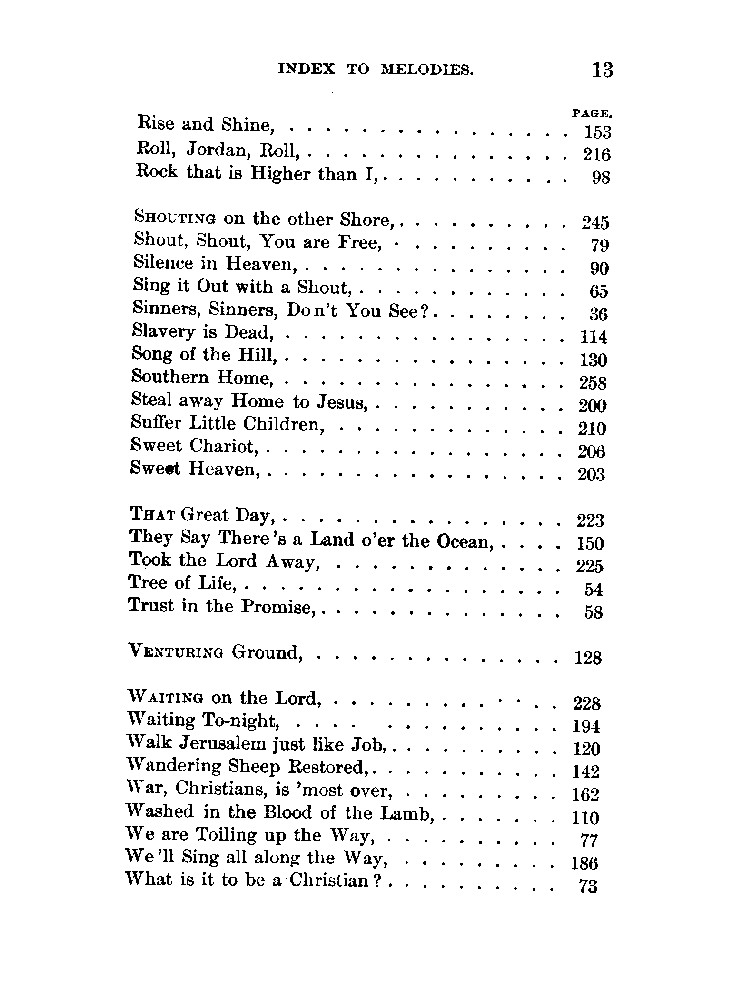 A collection of revival hymns and plantation melodies, p  23